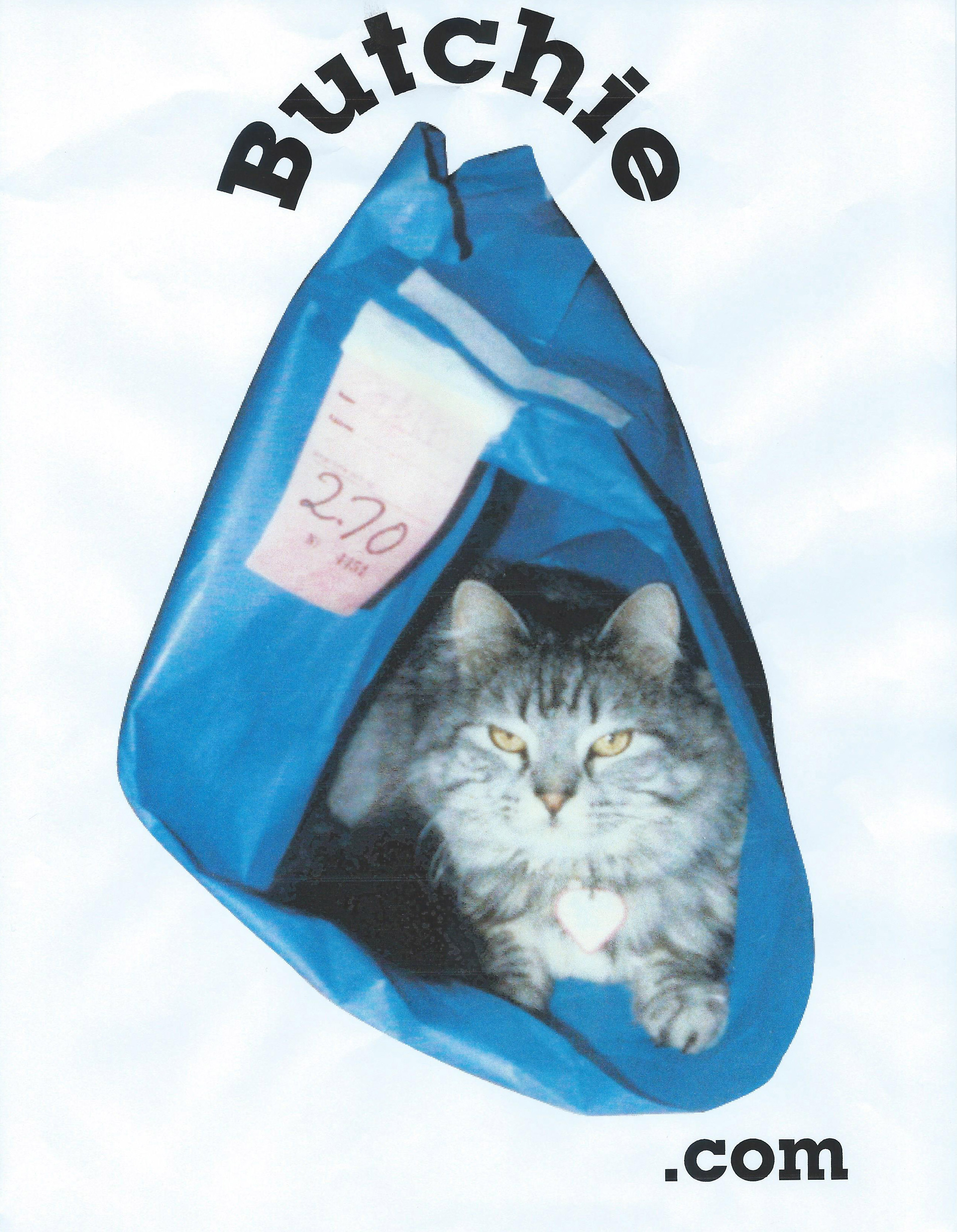 Butchie in a bag