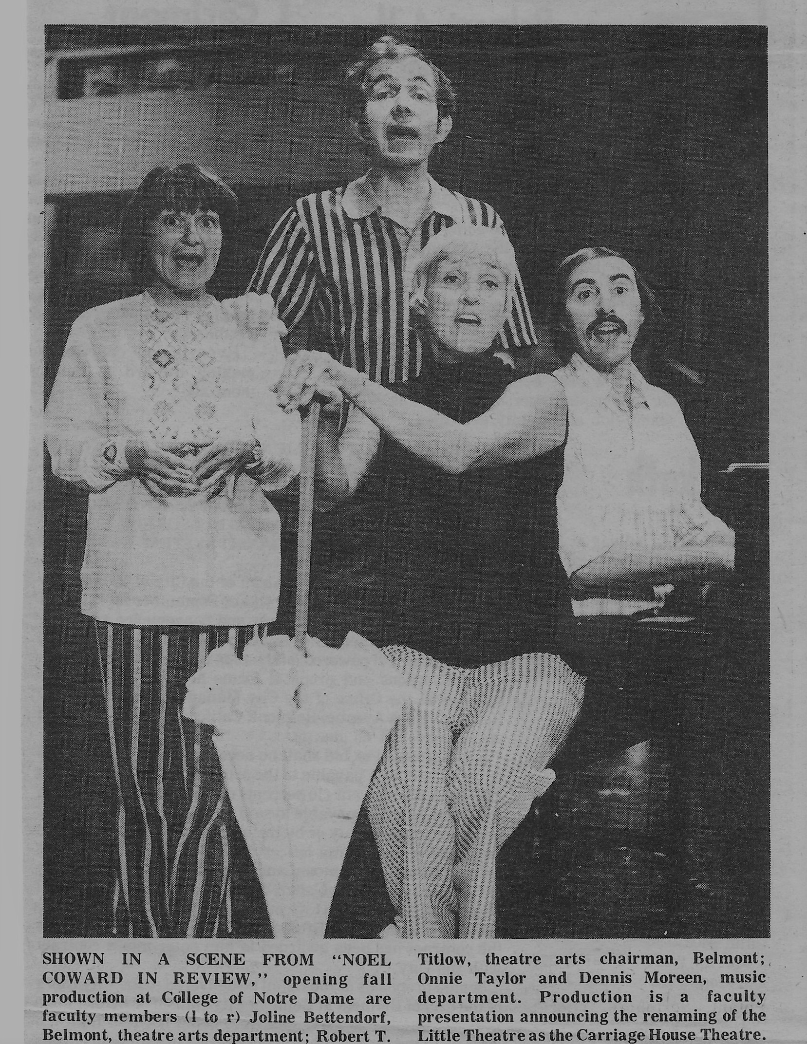 Noel Coward cast - 1974