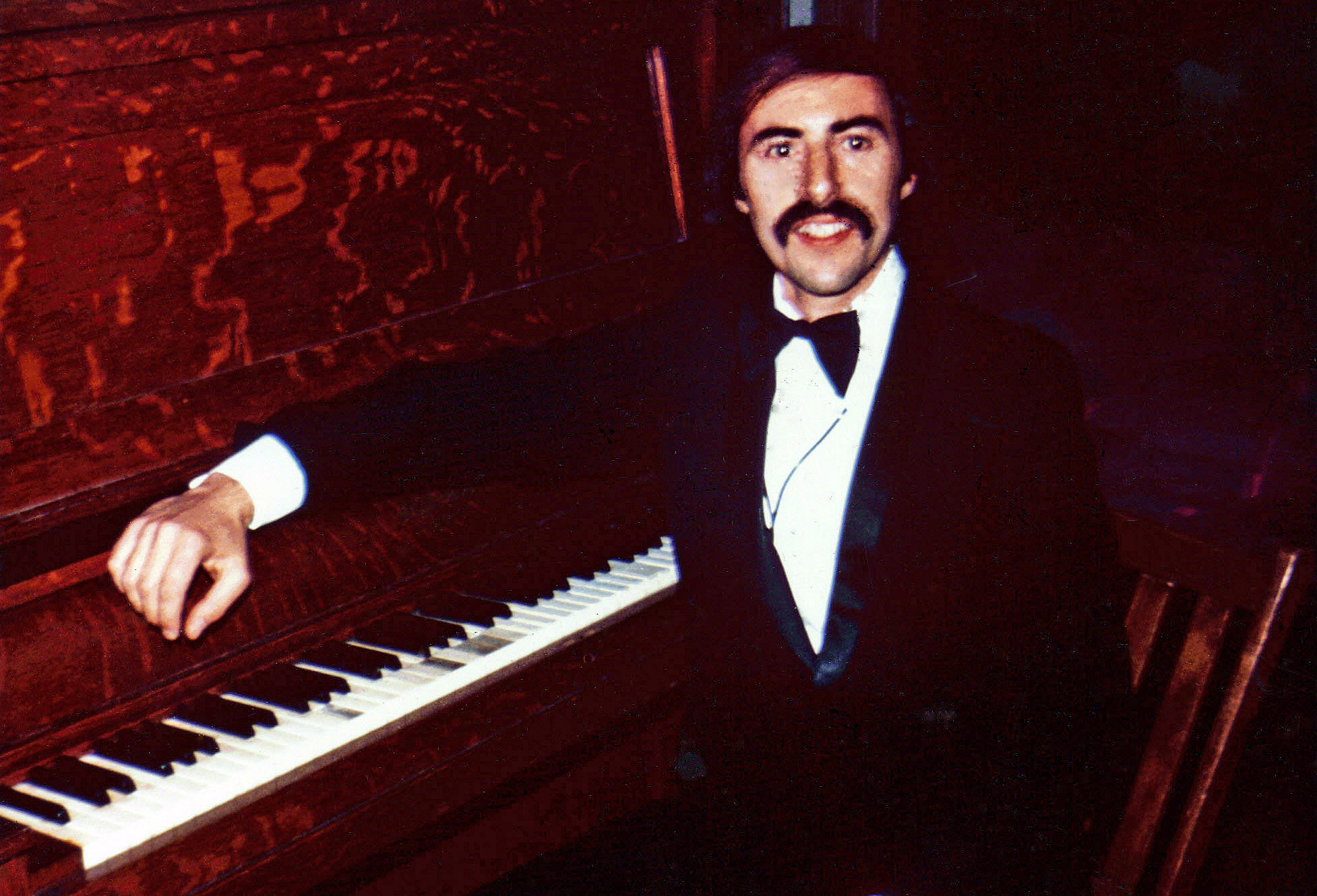 Denis at piano - 1975