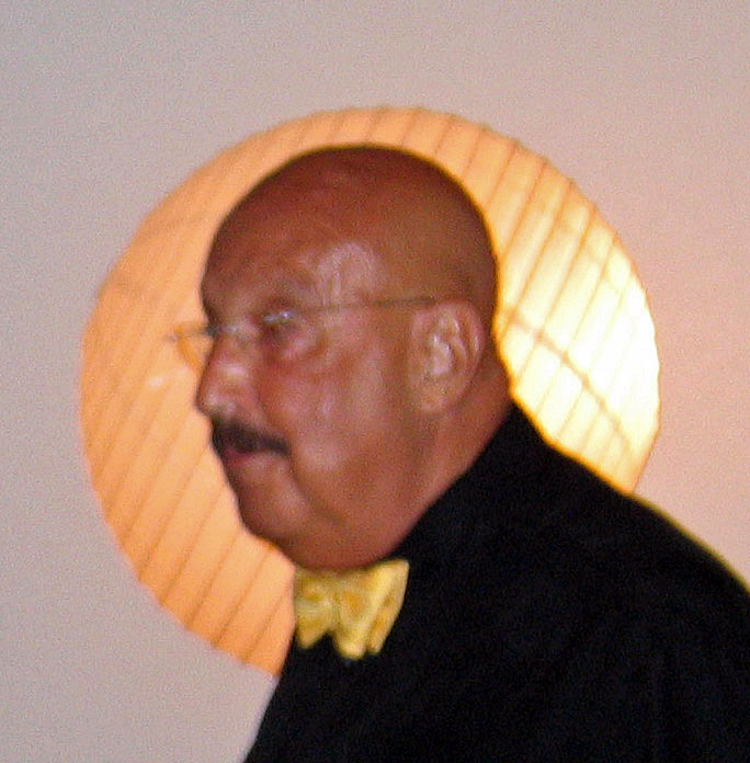 Ron with his halo, 2008